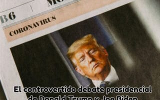 El controvertido debate presidencial de Donald Trump y Joe Biden