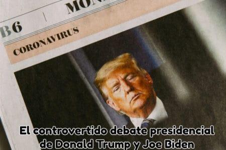 El controvertido debate presidencial de Donald Trump y Joe Biden